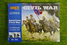 Conjunto de caballería confederado ACW 1/72 IMEX Wargames 504