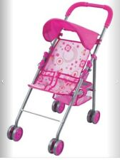 Baby Doll Stroller Toy Girl Kid Pretend Play Mommy Carriage Foldable