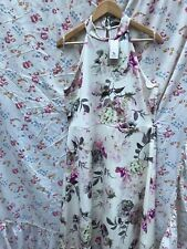 🌸TU WOMAN SIZE 20 GORGEOUS VINTAGE STYLE STRETCH SHOULDERLESS DRESS BNWT FAB 🌸