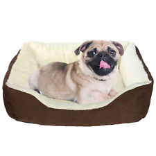 LIVINGbasics® Rectangular Soft Pet Bed Sofa for Cats & Dogs, Small Dog Bed