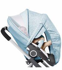 BRAND NEW Stokke Stroller Summer Kit - Bluebell Blue