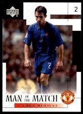 Upper Deck Manchester United 2002-2003 - Gary Neville Man of the Match No.38