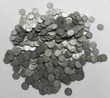 Lot of 50 Great Britain 1 Shillings all .500 Fine Silver