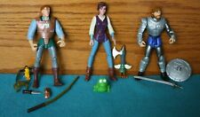 Vtg. Quest for Camelot Action Figures King Arthur, Kayley & Garrett 1997 Hasbro