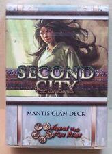 Second City Mantis Clan Card Deck AEG 15901 L5R CCG Celestial Arc - New & Sealed