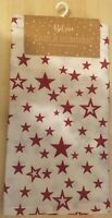 1,5m x 36cm Stars Christmas Table Runner 100% cotton Dining Decorations Cloth