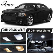 2011-2014 Dodge Charger White LED Interior Lights Package Kit