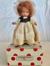 "LOVELY VINTAGE BISQUE NANCY ANN STORYBOOK  DOLL #34 ""IRISH"" W/ ORIG. BOX"