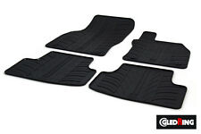 High Quality Black Rubber Tailored Car Mats - VW Golf Mk7 (13 on) + Clips