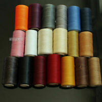 284yrd Leather Sewing Waxed Flat Thread for Luggage Shoes Upholstery