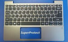 Acer Aspire Switch 10 Palmrest Touchpad Top Cover UK Keyboard