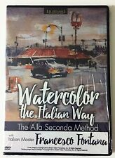 Francesco Fontana: Watercolor The Italian Way - Art Instruction DVD