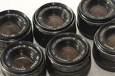 Helios 44M-6 Soviet Slr Lens Pentax Praktica Zenit M42 6 piece