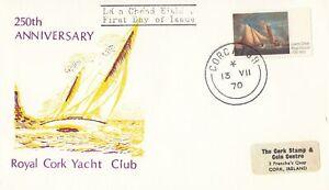Ireland Scott 282 FDC - Royal Cork Yacht Club, 250th Anniv.