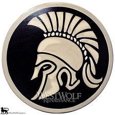 CORINTHIAN HELMET SHIELD --- sca/larp/greek/troy/spartan/medieval/wooden armor