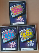 HITS OF THE 80'S EMI 2004 3X DVD ULTRAVOX KIM WILDE CULTURE CLUB SHEENA EASTON