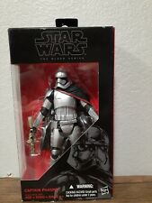 """STAR WARS The Black Series CAPTAIN PHASMA 6"""" Action Figure The Force Awakens NEW"""