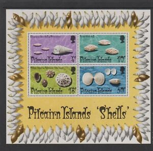 Pitcairn Island - 1974, Shells sheet - MNH - SG MS151