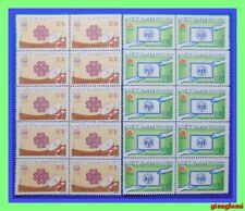 Vietnam World Communications Year Set 2 Sheet 10 MNH NGAI
