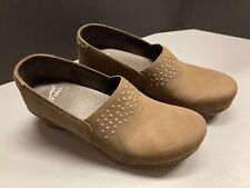 Dankso modern brown clogs size 41