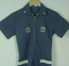 Vintage 70s NASA Kennedy Space Center Youth Astronaut Costume Space Suit Size 12