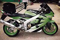 Kawasaki ZX6 R A1P-636A 2002 R&G Racing Classic Crash Protectors CP0021BL Black