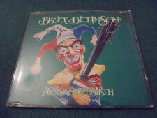 "BRUCE DICKINSON  Accident Of Birth CD2  ""First Day Cover"" Embossed Sleeve  Ex."
