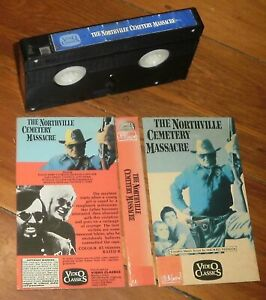 THE NORTHVILLE CEMETERY MASSACRE (1976) * VHS Video Tape * VIDEO CLASSICS * RARE