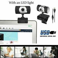 12MP USB2.0 HD Webcam Camera Web Cam With Mic For Computer PC Laptop Desktop