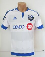 MONTREAL IMPACT 2015/2016/2017 AWAY SHIRT SOCCER JERSEY MAILLOT CANADA MLS BOY L