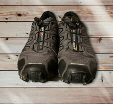 Salomon Speedcross 4 Trail Running Shoes Mens Size 9.5 US Grey/Black 392253