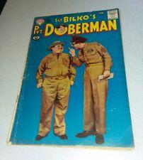 Sgt. Bilko's Pvt. Doberman #6 dc comics 1959 PHIL SILVERS TV SERIES photo cover