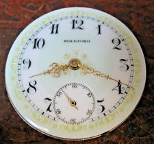 18s Size Rockford 17 Jewel Perfect V.Fancy mint dial 2 tone Movement Running