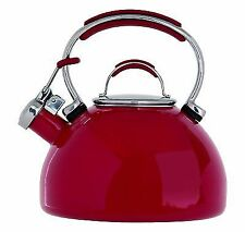 Prestige 2L Whistling Stove Top Kettle 50558-Red