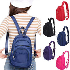 Convertible Nylon Small Mini Backpack Rucksack Sling Pack Purse Light Weight