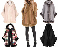 Knee Length Faux Fur Outdoor Coats & Jackets for Women