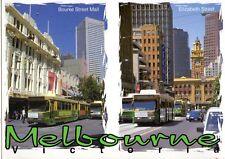 B1249aps Australia Q BRISBANE River and City Hughes Postcard