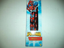 Three Blue And Three Red The Amazing Spider Man Marvel Pencils With Faces