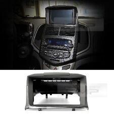 Audio GPS Dash Integral Fascia 1CD Carbon For 2011 - 2015 Chevy Aveo sonic 4d/5d