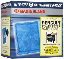MARINELAND RITE SIZE C CARTRIDGE 6 PACK PENGUIN BIO-WHEEL 200B 350B 330B 170B