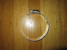 """#40  STAINLESS STEEL MARINE 3"""" HOSE CLAMP ALL STAINLESS"""