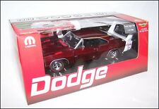 ERTL 1/18 1969 DODGE DAYTONA CANDY APPLE RED WITH WHITE WING  - 1 OF 500