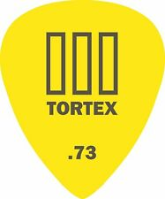 DUNLOP TORTEX III .73 GUITAR PICKS / PLECTRUMS 12 PACK