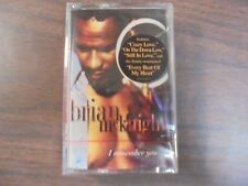 "NEW SEALED "" Brian McKnight"" I Remember You  Cassette Tape (G)"