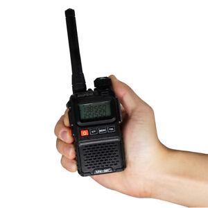 BaoFeng UV-3R+ Dual Band VHF/UHF FM MINI Walkie Talkie Two-Way Radio Transceiver