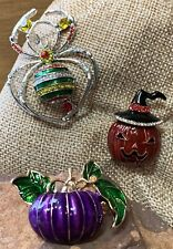 You Will FALL In Love With All 3 Of These SPOOKTACULAR Brooches / Pendants