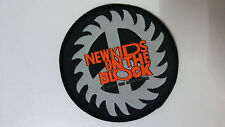 New Kids on The Block 1989 round NKOTB Vintage patch logo music boy band