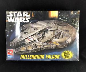 2005 AMT ERTL Star Wars Millennium Falcon Deluxe Cutaway Model Parts Bags Sealed