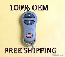 OEM 99 00-04 JEEP LOGO CHEROKEE + GRAND KEYLESS REMOTE FOB TRANSMITTER 56036860