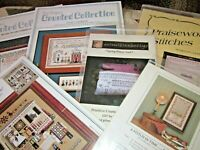 CS184, SALE, 4 assorted Samplers, cross stitch charts,OOP, YOUR CHOICE,